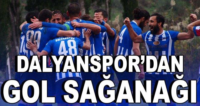Dalyanspor'dan gol sağanağı
