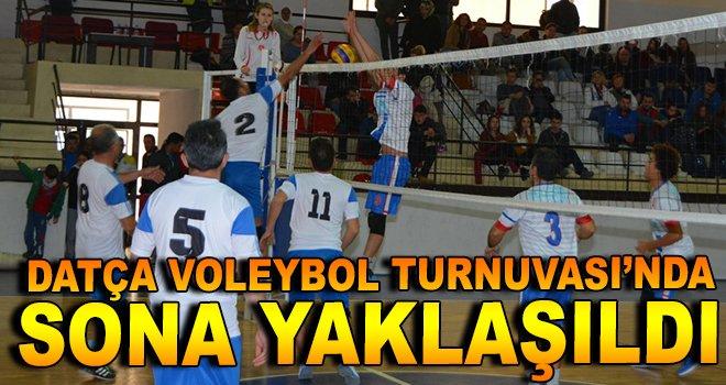 Datça Voleybol Turnuvası'nda Sona Yaklaşıldı