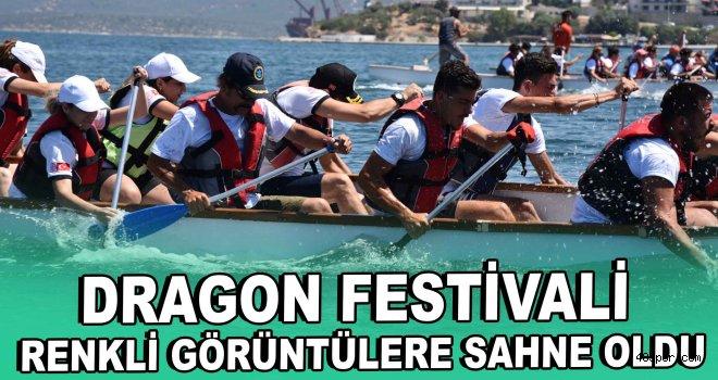 Dragon Festivali renkli görüntülere sahne oldu