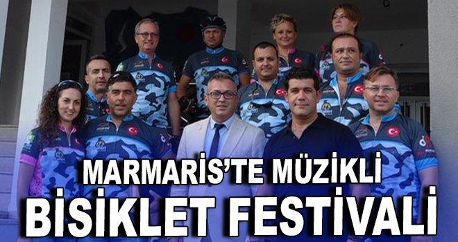 ''Dünyanın İncisi Marmaris Müzikli Bisiklet Festivali''