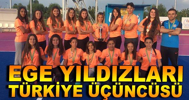 Ege Yıldızları Türkiye Üçüncüsü