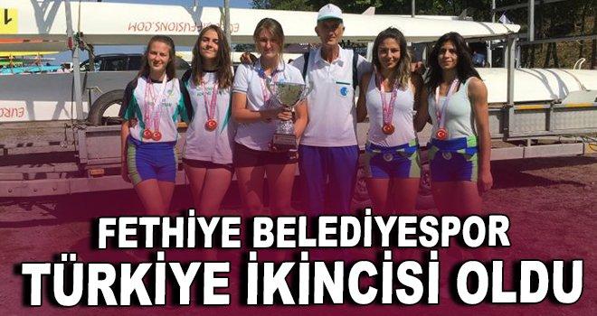 Fethiye Belediyespor Türkiye ikincisi oldu