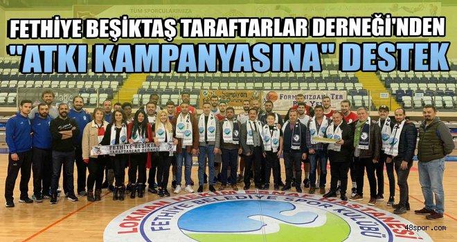 Fethiye Beşiktaş Taraftarlar Derneği'nden ''Atkı Kampanyasına'' destek