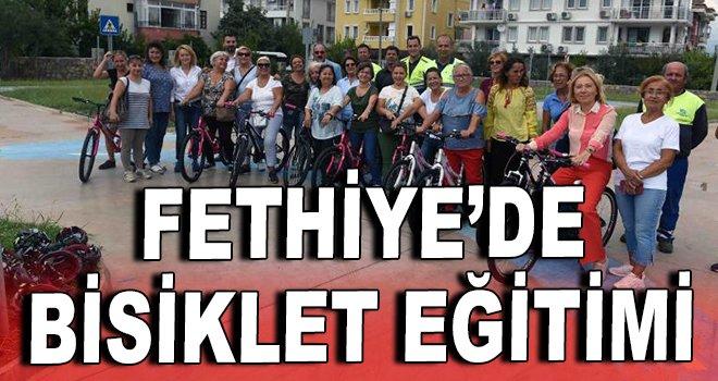 Fethiye'de bisiklet eğitimi