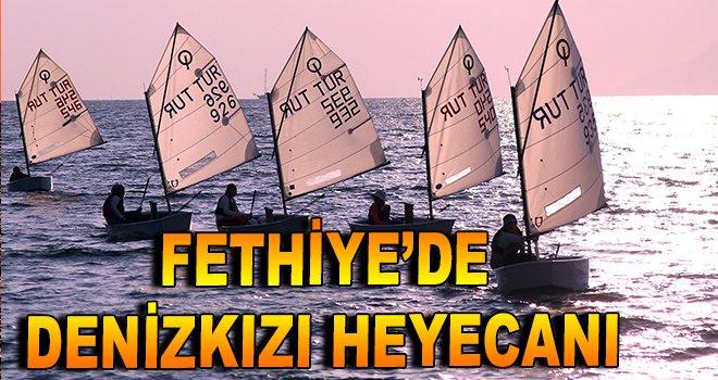 Fethiye'de Denizkızı heyecanı