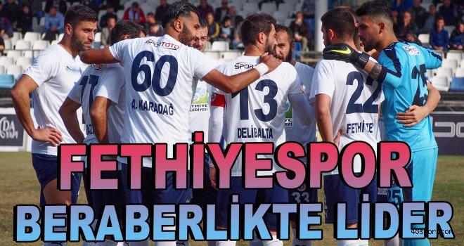 Fethiyespor beraberlikte lider