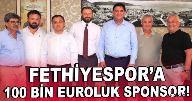 Fethiyespor'a 100 Bin Euroluk sponsor!