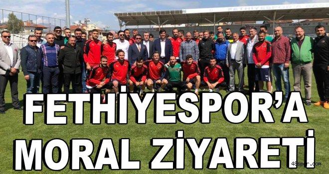 Fethiyespor'a moral ziyareti