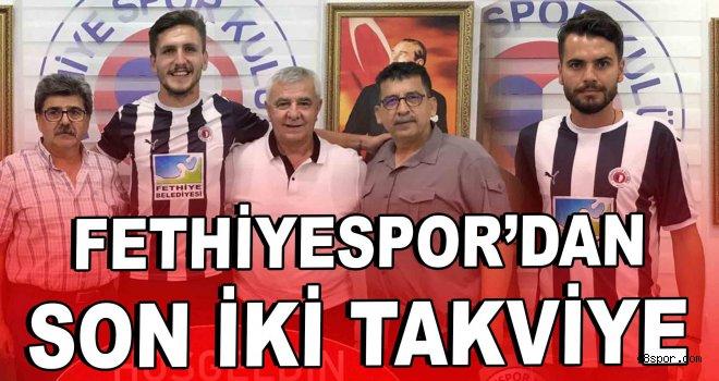 Fethiyespor'dan son iki takviye