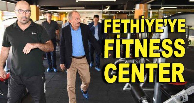 Fethiye'ye bir fitness center daha