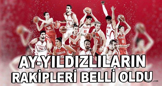 FIBA 2021 Avrupa Şampiyonası Elemeleri'nde Rakiplerimiz Belli Oldu
