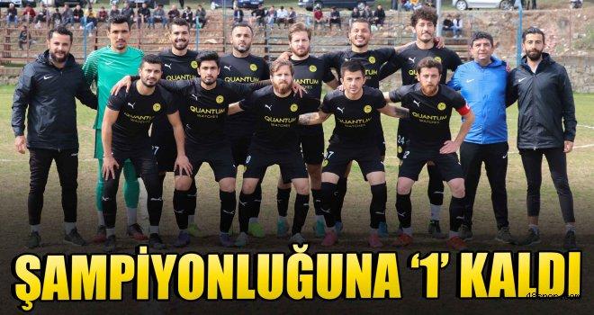 Gümüşlükspor'un şampiyonluğuna '1' kaldı!