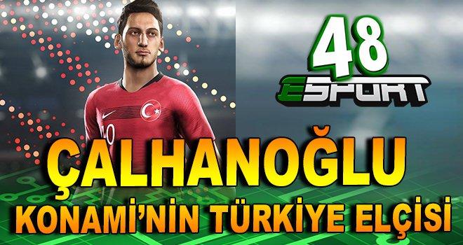 Hakan Çalhanoğlu Konami'nin Türkiye Elçisi