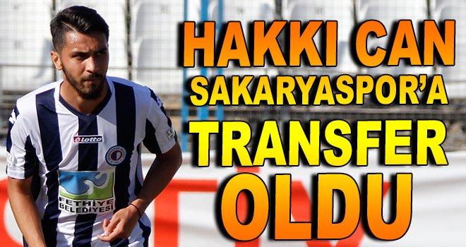 Hakkı Can, Sakaryaspor'a transfer oldu
