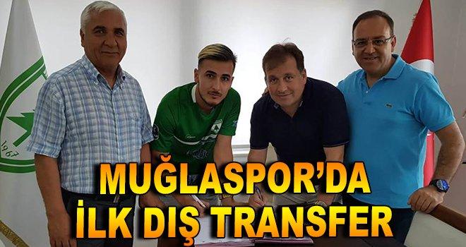 Muğlaspor'da ilk dış transfer yapıldı