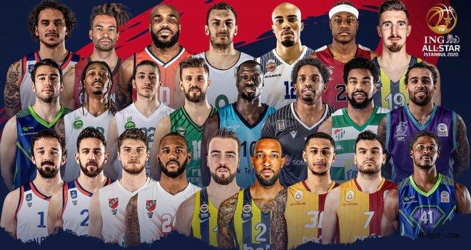 ING All Star 2020'de Yer Alacak Oyuncular Belli Oldu
