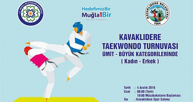 Kavaklıdere Tekvando Turnuvası'na 14 Kulüp Katılacak