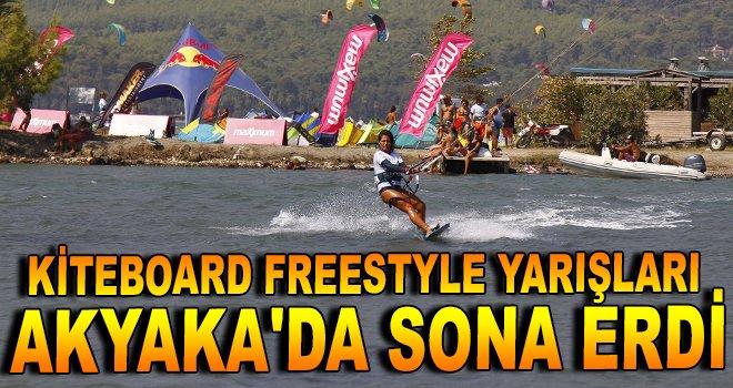 Kiteboard Freestyle Yarışları Akyaka'da sona erdi
