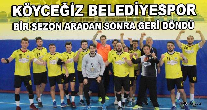 Köyceğiz Belediyespor 1. Lig'de