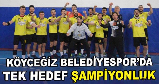 Köyceğiz Belediyespor'da tek hedef şampiyonluk
