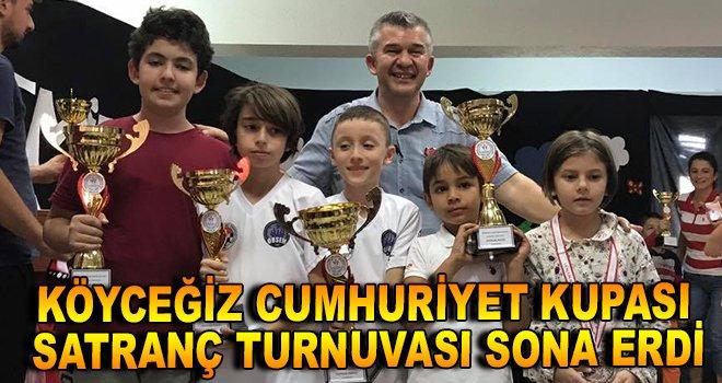 Köyceğiz Cumhuriyet Kupası sona erdi