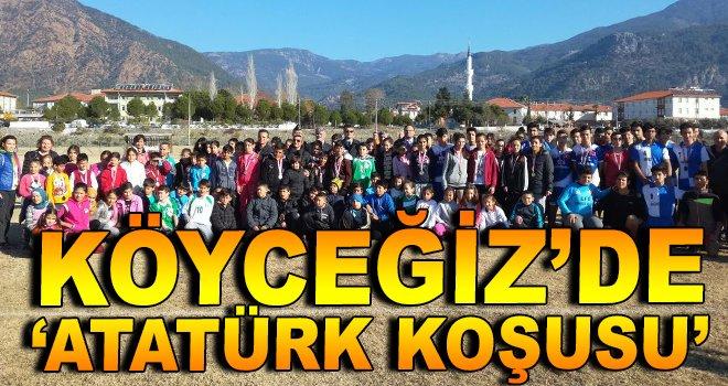 Köyceğiz'de ''Atatürk Koşusu'' Yapıldı