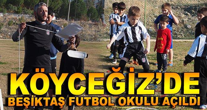 Köyceğiz'de Beşiktaş Futbol Okulu Açıldı