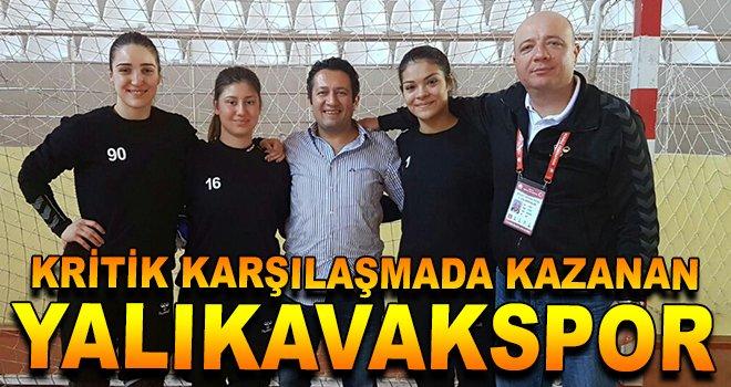 Kritik Karşılaşmada Kazanan ''Yalıkavakspor''