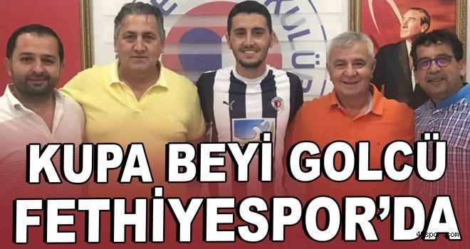 Kupa beyi golcü Fethiyespor'da