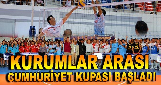 Kurumlar Arası Cumhuriyet Kupası başladı