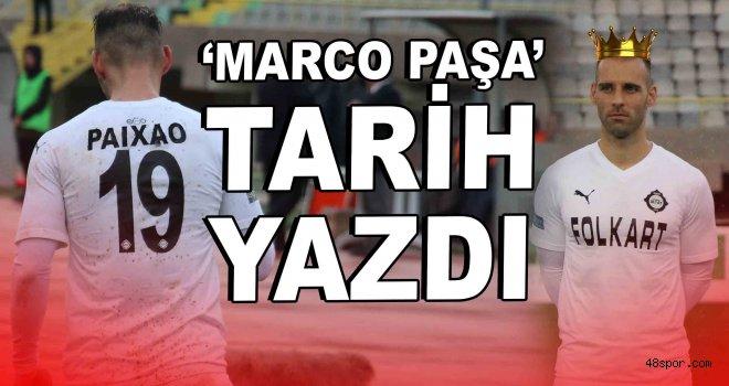 ''Marco Paşa'' 1. Lig'de tarih yazdı!