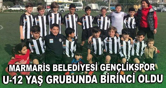 Marmaris Belediyesi Gençlikspor grubunu birinci olarak tamamladı