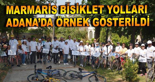 Marmaris Bisiklet Yolları Adana'da örnek gösterildi