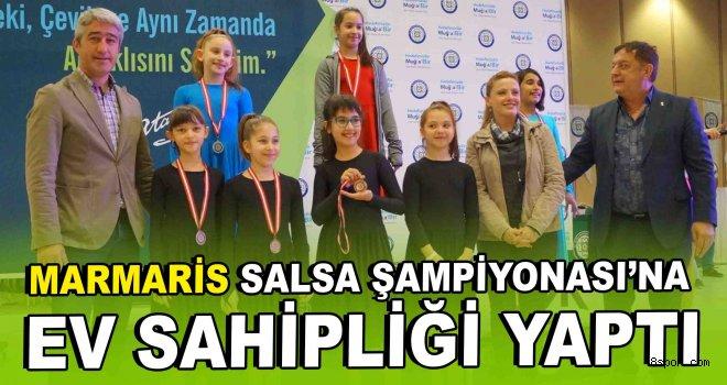 Marmaris, Salsa Şampiyonası'na ev sahipliği yaptı