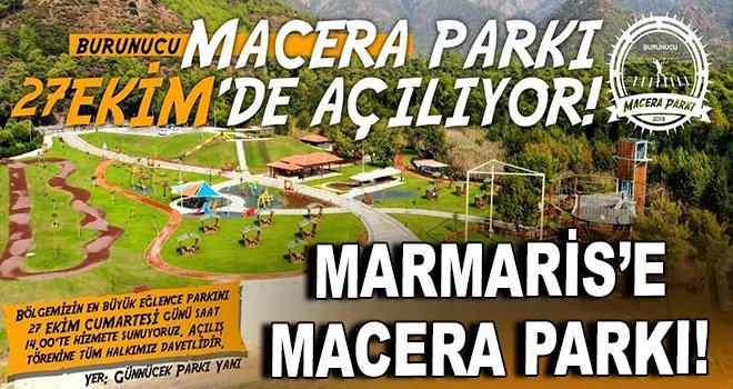 Marmaris'e ''Macera Parkı'' açılıyor!