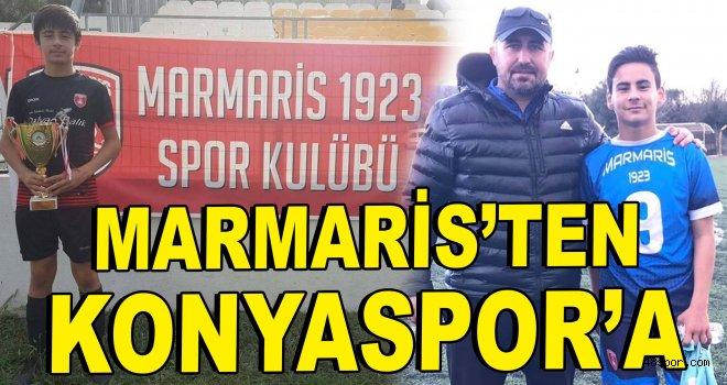 Marmarisli genç yetenekler Konyaspor'a transfer oldu