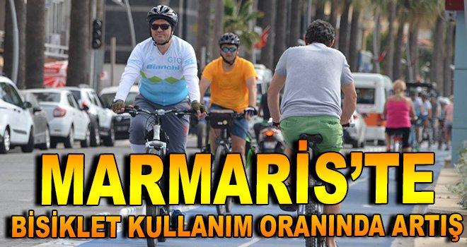 Marmaris'te bisiklet kullanım oranında artış