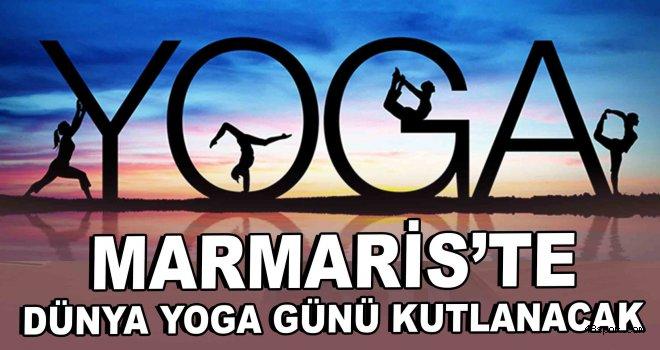 Marmaris'te ''Dünya Yoga Günü'' kutlanacak