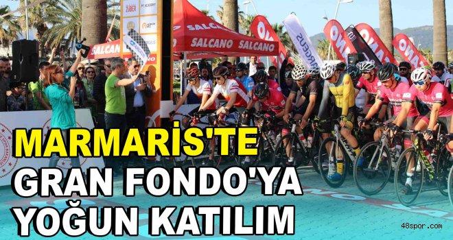 Marmaris'te Gran Fondo'ya yoğun katılım