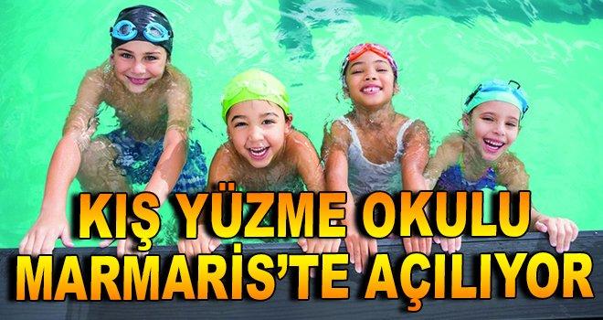 Marmaris'te Kış Yüzme Okulu Açılıyor