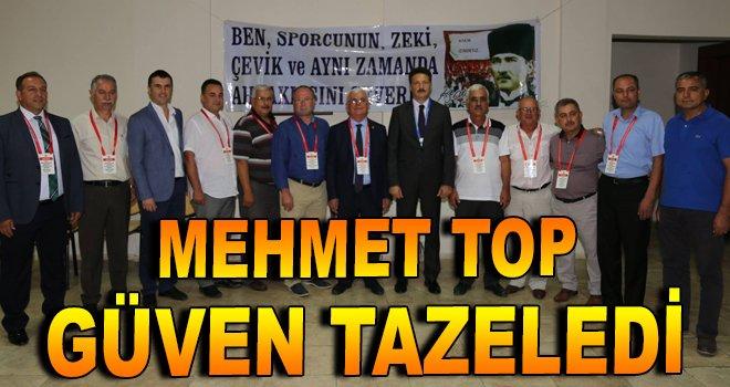 Mehmet Top, güven tazeledi