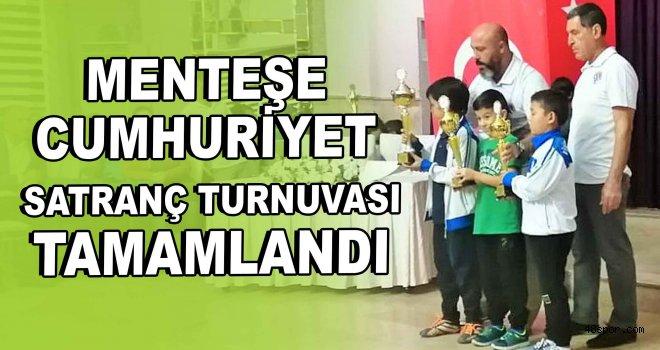 Menteşe  Cumhuriyet  Satranç Turnuvası tamamlandı