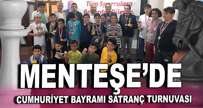 Menteşe'de Cumhuriyet Bayramı Satranç Turnuvası