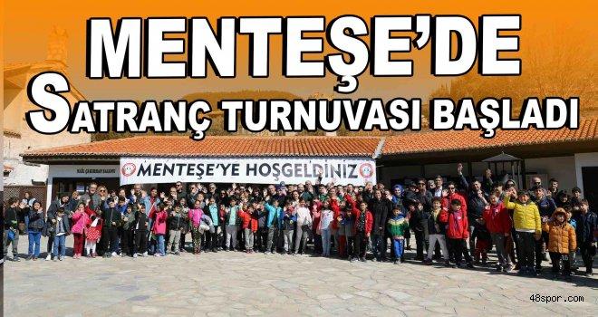 Menteşe'de satranç turnuvası başladı