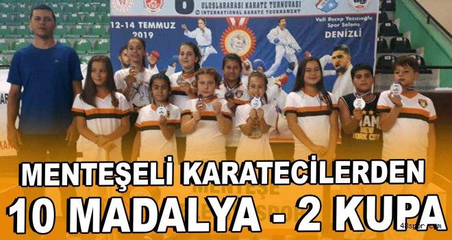 Menteşeli Karatecilerden 10 Madalya, 2 Kupa