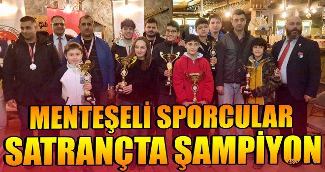 Menteşeli sporcular satrançta şampiyon