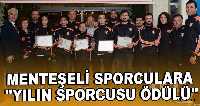 Menteşeli Sporculara ASKF'den ''Yılın Sporcusu Ödülü''