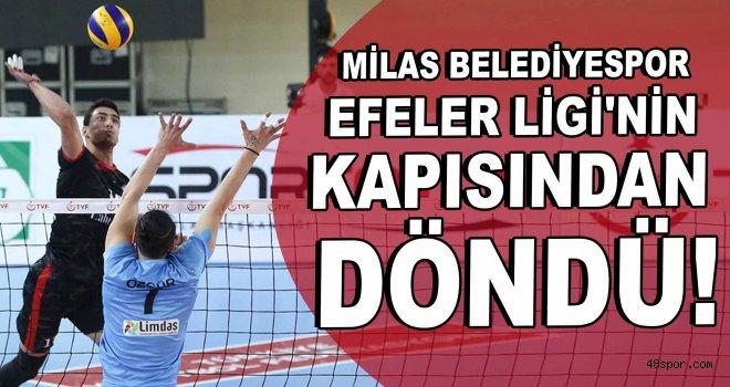 Milas Belediyespor, Efeler Ligi'nin kapısından döndü!