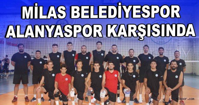 Milas Belediyespor evinde Alanyaspor'u ağırlayacak