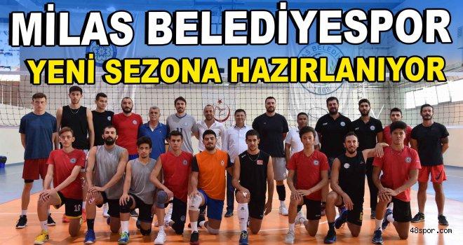 Milas Belediyespor yeni sezona hazırlanıyor